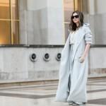 Женская одежда пастельных тонов уличная мода