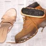 Как аккуратно почистить кожаную и замшевую обувь?