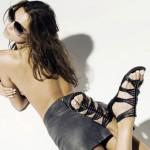 Модные сандалии: сплошная контрастность и привычная классика